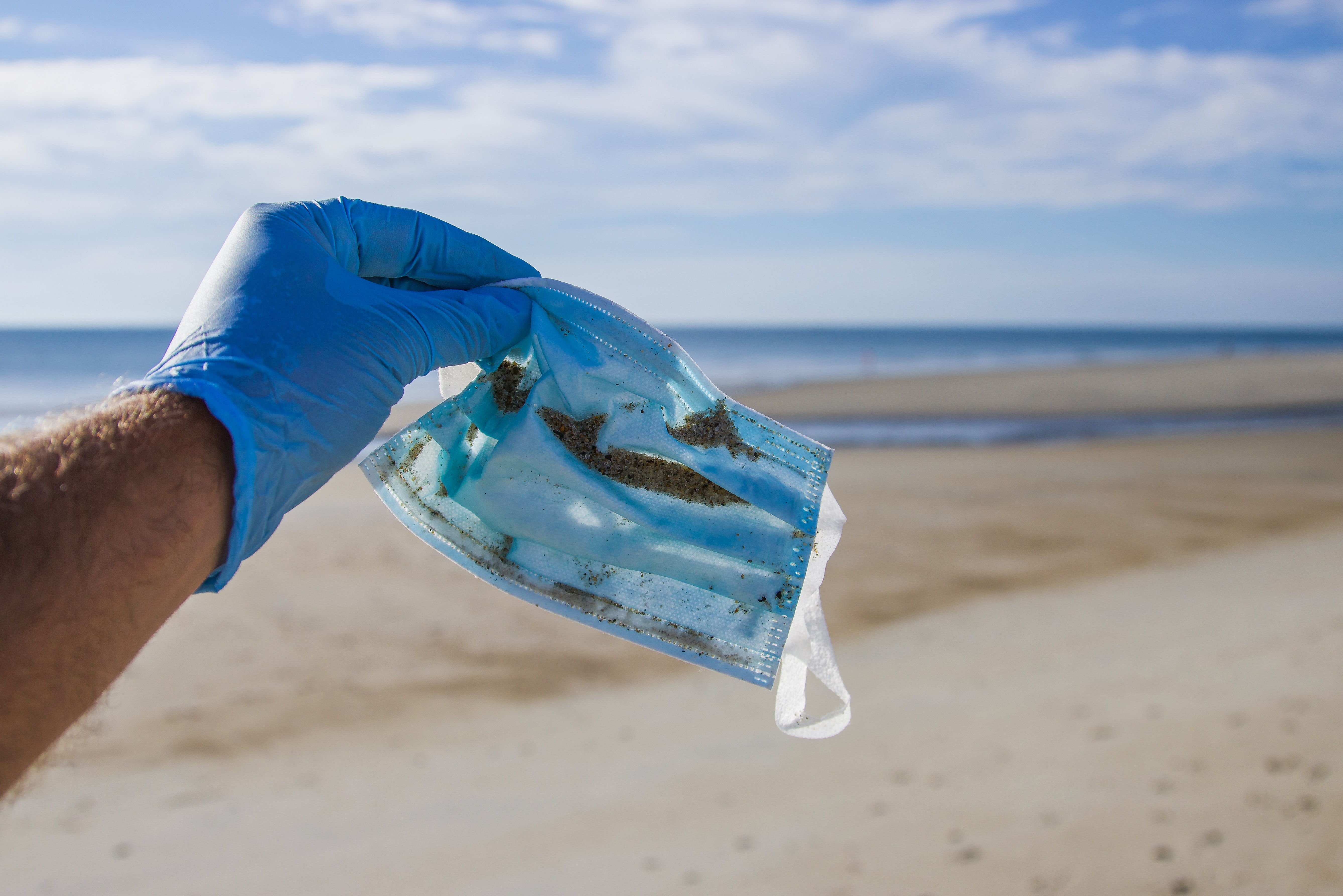 O plástico em tempos de pandemia